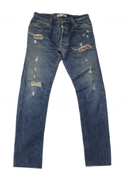 Jeans classico toppe